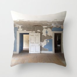 The Blue Room Throw Pillow