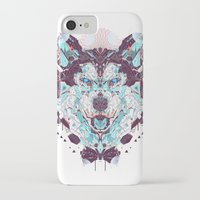 husky iPhone & iPod Cases featuring husky by yoaz