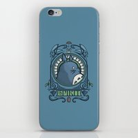 hallion iPhone & iPod Skins featuring Forest Spirit Nouveau by Karen Hallion Illustrations