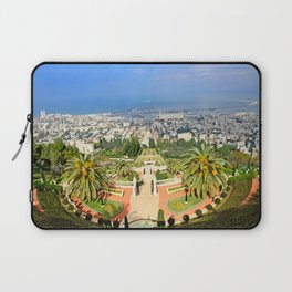 Bahai Gardens Laptop Sleeve