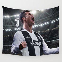 Cristiano Ronaldo Juve CR7 Wall Tapestry