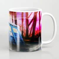 dr who Mugs featuring dr who by shannon's art space