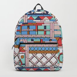 Pop art windows Backpack