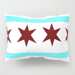 Chicago Flag (traditional) Pillow Sham