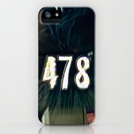 Abstract Prime Number iPhone Case