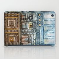 cityscape iPad Cases featuring Cityscape by Maureen Mitchell