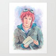 Ramona Flowers Art Print