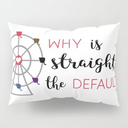 why is straight the default Pillow Sham