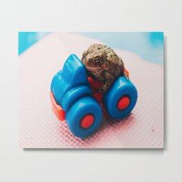 Adventures of Toad 1 Metal Print
