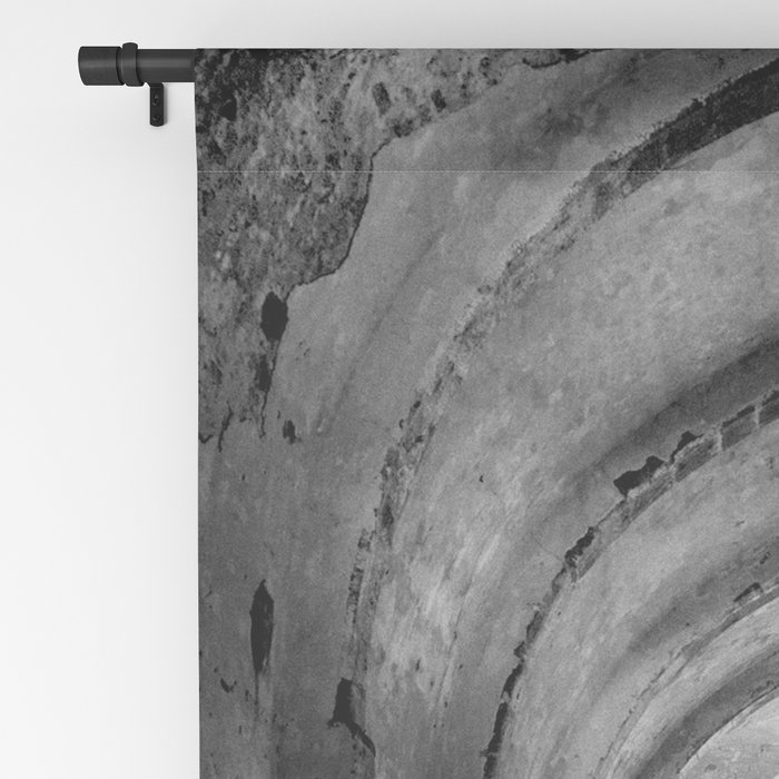 A derelict churh in Northern Cyprus Blackout Curtain