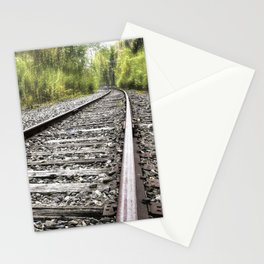 A Track Through The Woods Stationery Cards