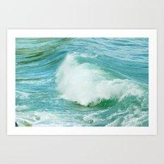 Feel the sea. Art Print