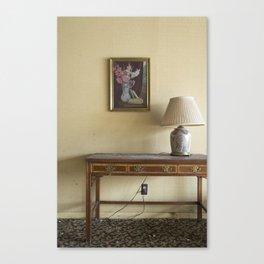 Hotel Lamp Canvas Print