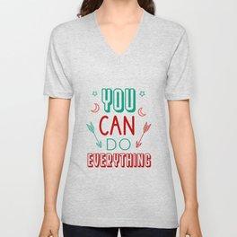 You can do everything Unisex V-Neck