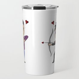 Cupid Chibi Malec Travel Mug