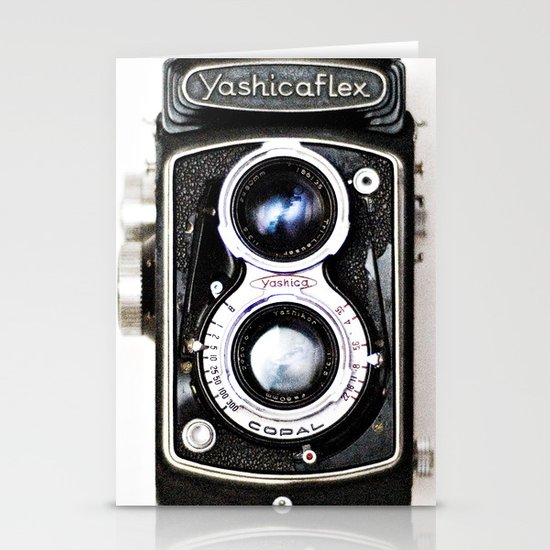 Yashica Retro Vintage Camera Stationery Cards