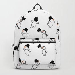 Snowmen skating Backpack