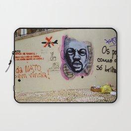 ANTI WAR GRAFFITI IN LISBON  Laptop Sleeve