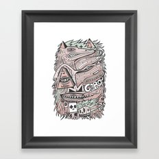 Hirsute Framed Art Print