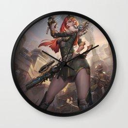 Commander Wall Clock
