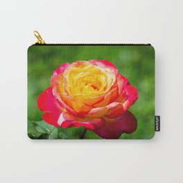 Red and yellow rose Carry-All Pouch