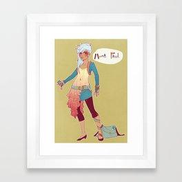 Moira Framed Art Print