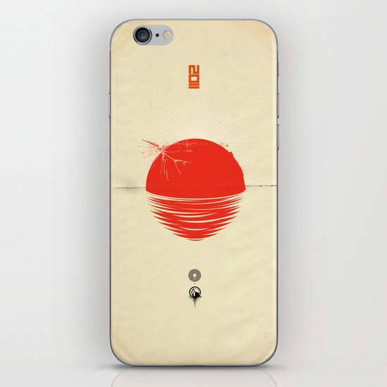 "Japan relief poster/all proceeds will go to ""Peace Winds"" iPhone & iPod Skin"