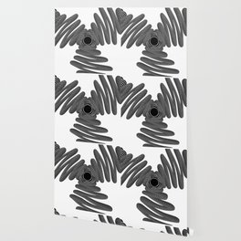 Wired in Black and White Wallpaper