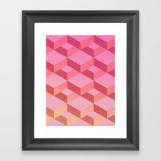 Geometry #01 Framed Art Print