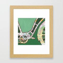 Bike Chattanooga Tennessee Framed Art Print