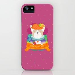 mmm yummy! iPhone Case