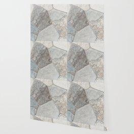 Natural Stone Wall Wallpaper