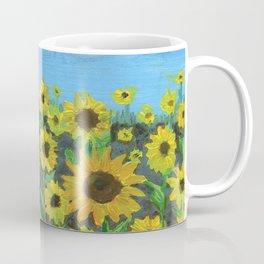 Sunflower Field Coffee Mug