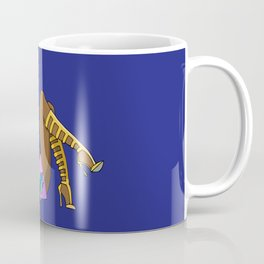 Funky Retro Girl Coffee Mug