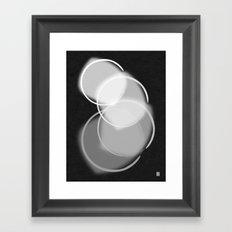 Colorblind Opal  Framed Art Print
