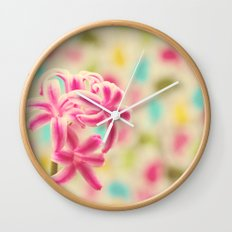 Pastel Obsession Wall Clock