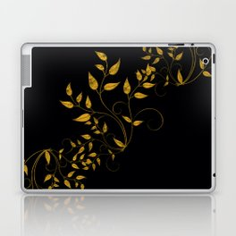 TREES VINES AND LEAVES OF GOLD Laptop & iPad Skin