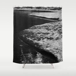 Snowy River Bank 2 Shower Curtain