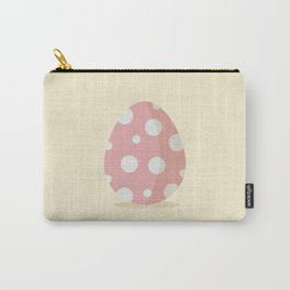 Easter egg with poke dots Carry-All Pouch