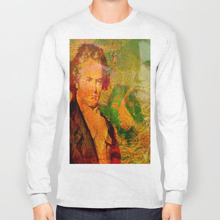 ludwig van beethoven Long Sleeve T-shirt