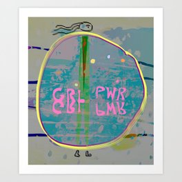 GRL PWR, Alissia World Art Print