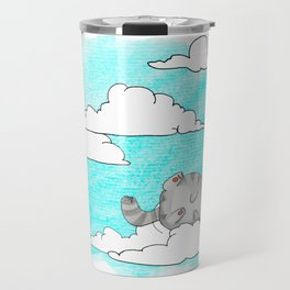 Sky Cat Travel Mug