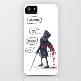 Your arms off! iPhone Case