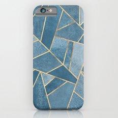 Dusk Blue Stone iPhone 6 Slim Case