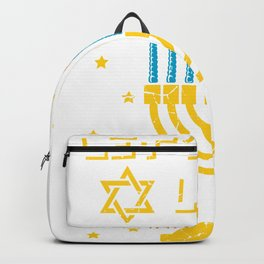 Let's Get Lit Jew and Party Person Gift Backpack