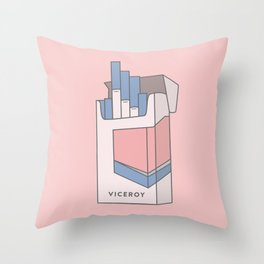 Ode to Viceroy Throw Pillow