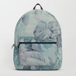 Tropical in Grey Backpack