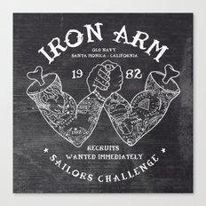 Iron Arm Canvas Print