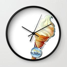 Ice Cone Wall Clock