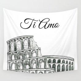Roman Colosseum Print Wall Tapestry